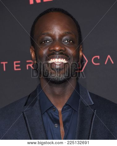 LOS ANGELES - FEB 01:  Ato Essandoh arrives for the Netflix's 'Altered Carbon' Season 1 Premiere on February 1, 2018 in Los Angeles, CA
