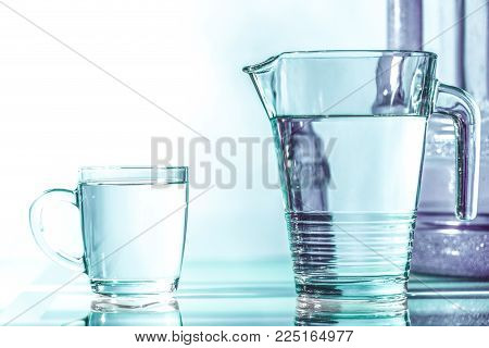 Access clean water - the biggest problem of the modern world. Photography can illustrate the shortage of clean water or drinking water.