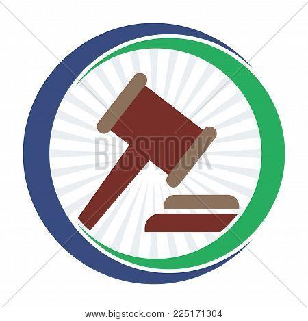 icon logo illustration for bidding business management