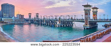 The Stanley Bridge Is The Main Landmark Of The Same Named Neighborhood, Famous For Its Scenic Sand B