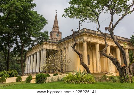 Anglican St John church built in 18th century in Kolkata, West Bengal, India