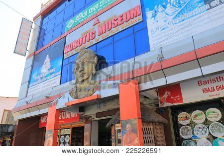 Pokhara Nepal - November 8, 2017: Robotic Museum In Pokhara Nepal.
