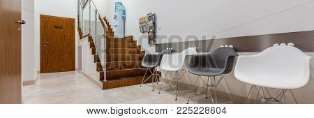 Waiting Area In Dental Clinic