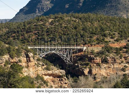 Midgley Bridge on Highway 89A near Sedona, AZ