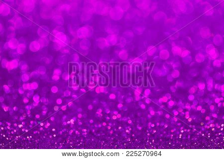 Abstract twinkled bright background with bokeh defocused lights.