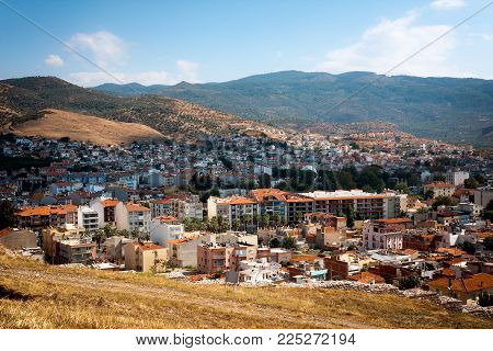 Selcuk, Turkey - September 29, 2014: View Of The Town And Landscape From The Ayasoluk Hill