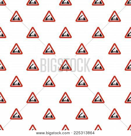 Drawbridge pattern seamless in flat style for any design