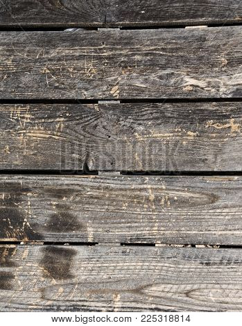 Texture of old wooden boards of grey colors