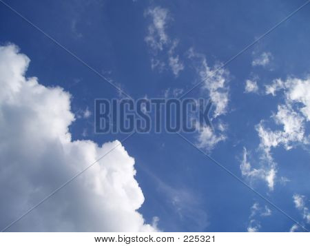Wadded Clouds