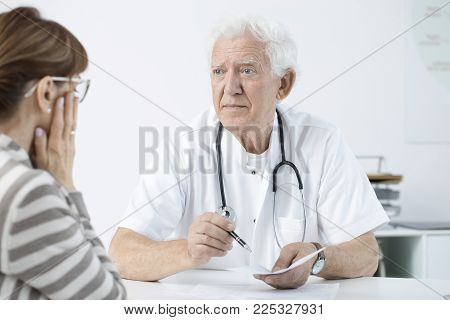 Doctor Announcing Bad News