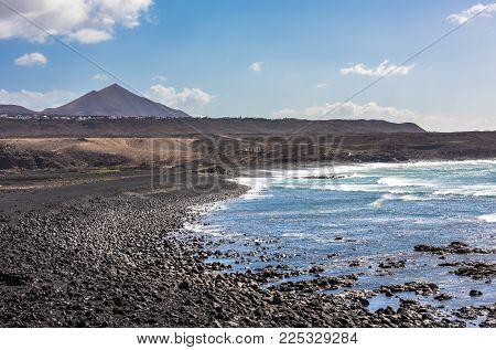 Janubio Beach In Lanzarote, Canary Islands, Spain