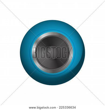 Music audio speakers. Loudspeaker vector illustration. Icon audio system.