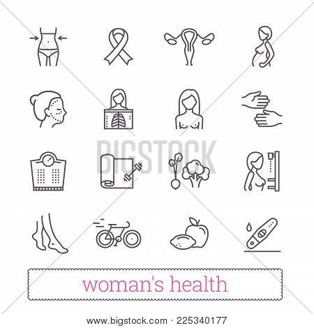 Womans Health Thin Vector Photo Free Trial Bigstock