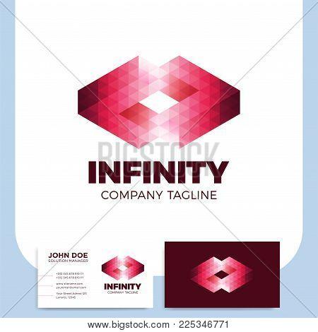 Infinity symbol logo design infinity logo template infinity media logo