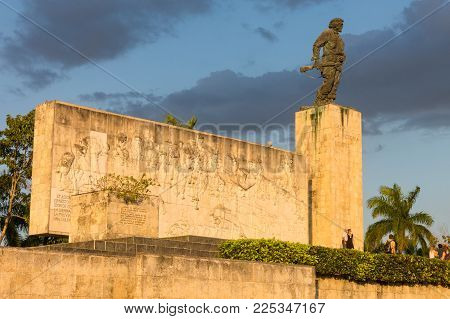 Che Guevara Memorial And Museum In Santa Clara, Cuba.
