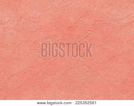 Pink Rose Yellow Seamless Stone Texture. Pink Venetian Plaster Background Seamless Stone Texture. Tr