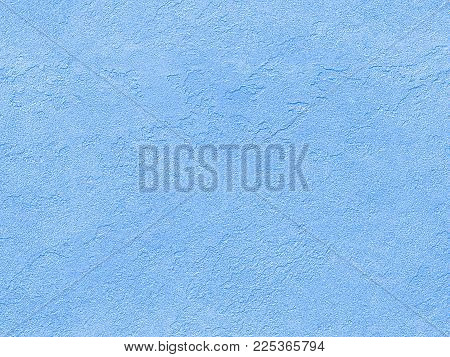Blue Seamless Stone Texture. Blue Venetian Plaster Background Seamless Stone Texture. Traditional Bl