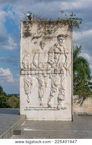 Frieze With Relief, In Memorial Ernesto
