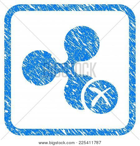 Ripple Reject Rubber Seal Stamp Watermark. Icon Vector Symbol With Grunge Design And Dirty Texture I