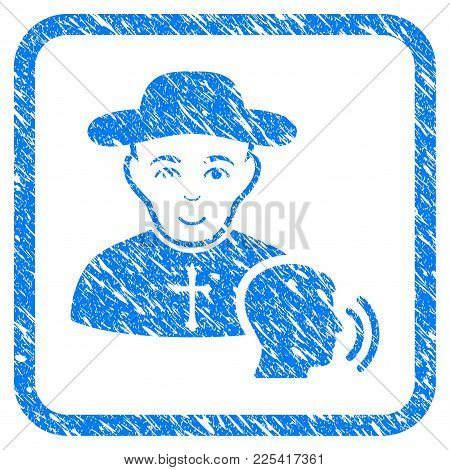 Believer Confession Rubber Seal Stamp Imitation. Icon Vector Symbol With Grunge Design And Dirty Tex