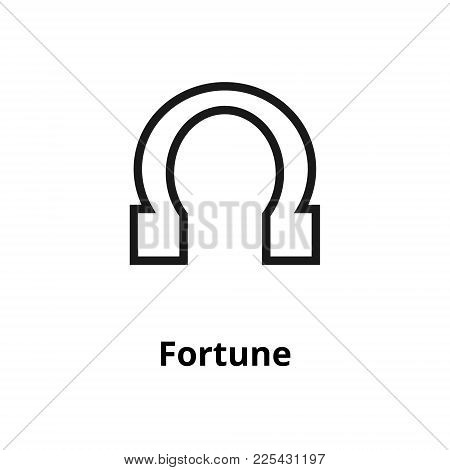 Fortune Thin Line Icon. Icon For User Interface And Web