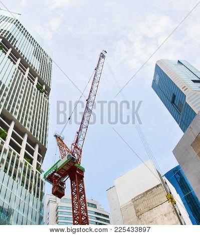 Singapore Downtown Construction Site