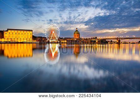 Landmark Scene Of Toulouse, France