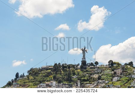 Panecillo Is A 200-metre-high Hill Of Volcanic-origin, With Loess Soil, Located Between Southern And