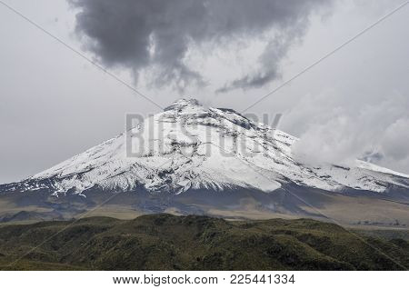 Cotopaxi Is An Active Stratovolcano In The Andes Mountains, Located In The Latacunga Canton Of Ecuad