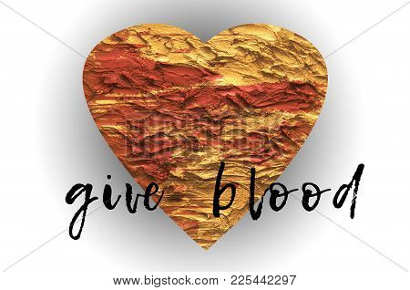 Give Blood Poster Capaign For Blood Donor