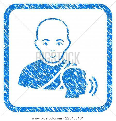 Buddhist Confession Rubber Seal Stamp Watermark. Icon Vector Symbol With Grunge Design And Dirty Tex
