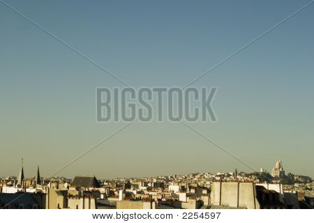 Paris Skyline, Late Afternoon