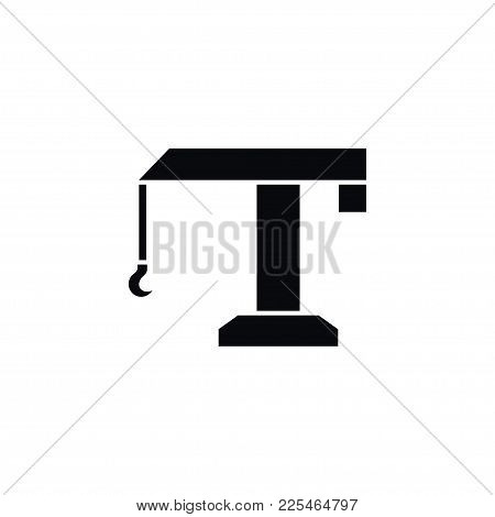 Isolated Industry Icon. Hoisting Vector Element Can Be Used For Lifting, Industry, Hoisting Design C