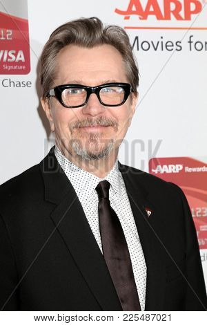 LOS ANGELES - JAN 8:  Gary Oldman at the AARP's 17th Annual Movies For Grownups Awards at Beverly Wilshire Hotel on January 8, 2018 in Beverly Hills, CA