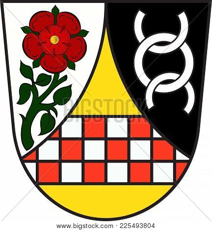 Coat Of Arms Of Werdohl Is A Town In The District Maerkischer Kreis, In North Rhine-westphalia, Germ