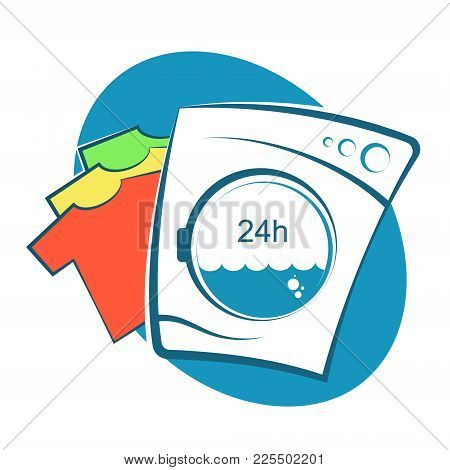 Laundry Operation Symbol For Business Vector Dry