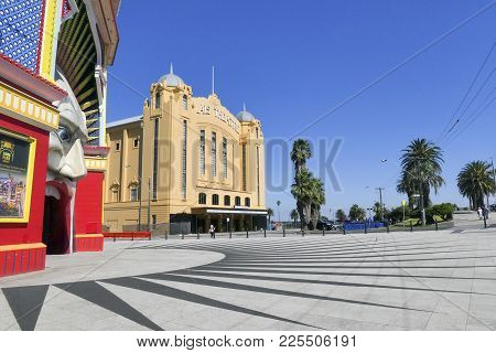 St Kilda, Australia: March 06, 2017: The Palais Theatre Is A Concert Venue And Theatre In The Melbou