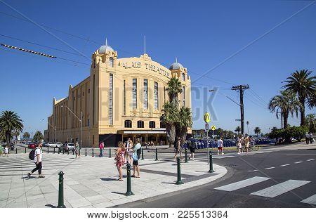 St Kilda, Australia: March 18, 2017: The Palais Theatre Is A Concert Venue And Theatre Located In Th
