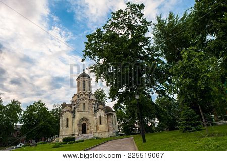 Spassky Cathedral Of The Vernicle Image Of The Saviour In The Andronikov Monastery, Moscow.