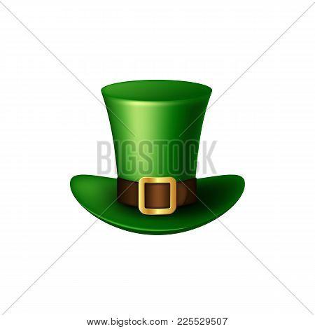 St. Patrick's Day Green Leprechaun Hat.