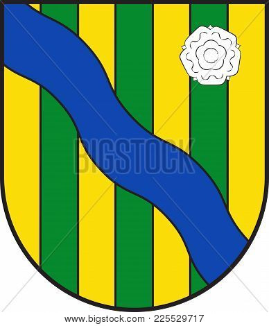 Coat Of Arms Of Lennestadt In The Sauerland In Southeast North Rhine-westphalia And Is A Community I