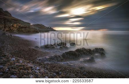 Bracelet Bay And Mumbles Lighthouse Blue Flag And Seaside Award Winning Bracelet Bay Beach Is Near M