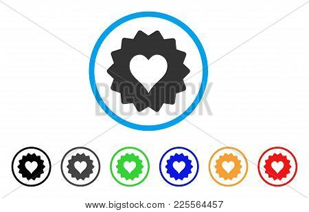 Hearts Token Icon. Vector Illustration Style Is A Flat Iconic Hearts Token Black Symbol With Grey, Y