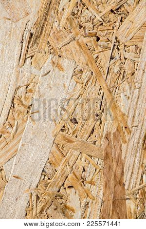 Wooden Background Made From Industrial Waste For Decoration And Design