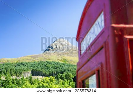 The Pap Of Glencoe Mountain In The Scottish Highlands Named Sgurr Na Cìche In Scottish Gaelic With A