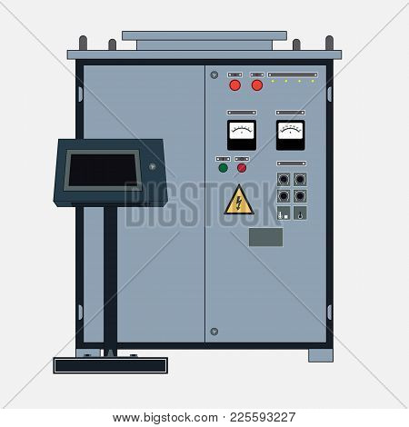 Technical Object, Rectifier For Electrotechnology. Transformer To Increase Or Decrease The Voltage O