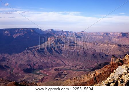 The View Of The South Rim From The Duck On The Rock View Point