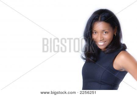 Black Fashion Model