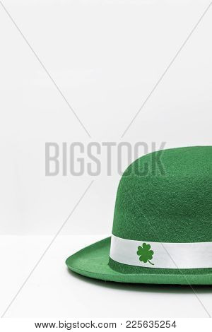 St. Patrick's Day Hat Shamrocks