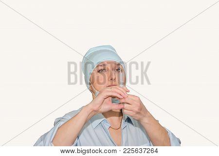 Female Doctor Isolate On White, Female Doctor, Medicine Concept